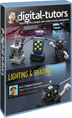 Digital Tutors: Creative Development: Lighting and Shading in V-Ray for Maya