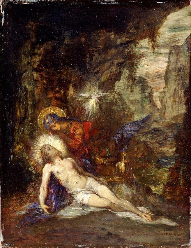 Gustave Moreau - Pietà