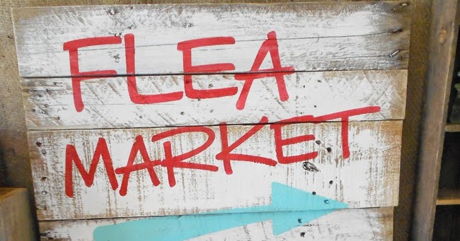 Denise On A Whim Flea Market Pallet Sign