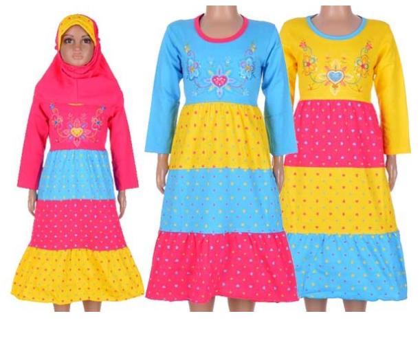 Gambar Baju Gamis Anak-Anak