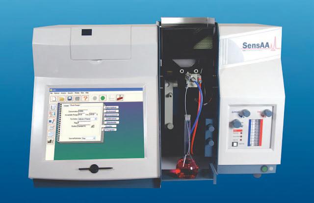 Máy quang phổ hấp thụ nguyên tử SensAA