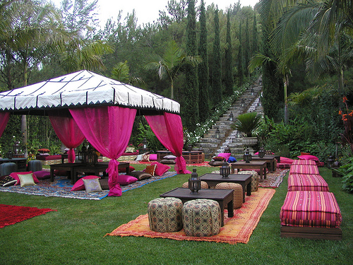 Backyard Tent Ideas : PBC Style Magical Moroccan Party Tents