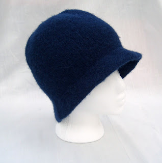 Mercier Knitting Patterns: Felted Cloche