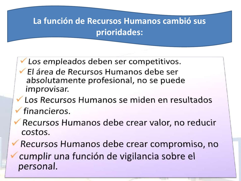 DESCRIPCIÓN Y ANÁLISIS DE PUESTOS | Recursos Humanos