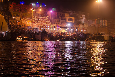 Varanasi City at Night