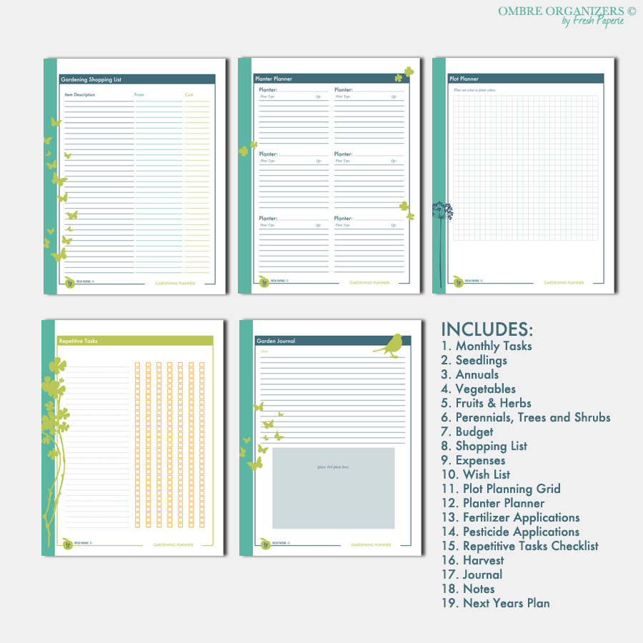 Fresh Paperie Studios Weddings Printables Graphic Design