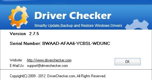 Fix It Driver Serial Number