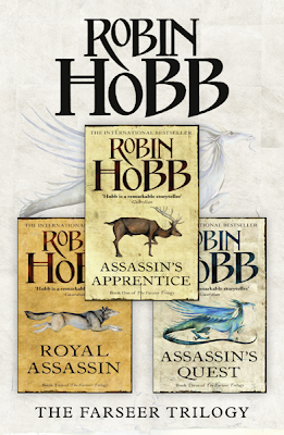 Farseer Trilogy by Robin Hobb - UK Cover