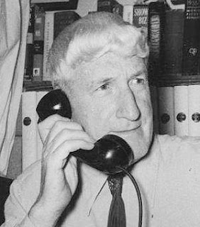 Frank Scully on Phone