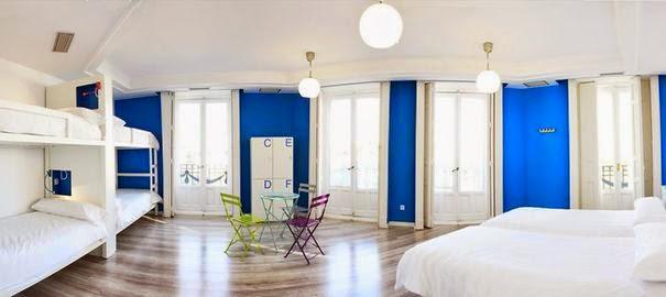 A Madrid le U hostel Family Dorm est situé dans le centre, chambres dortoirs