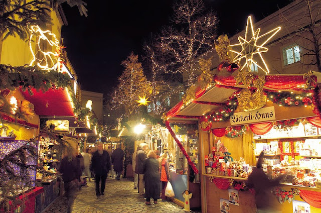 Basel Christmas Market. Photography: Property of Viking River Cruises unless noted. Unauthorized use is prohibited.