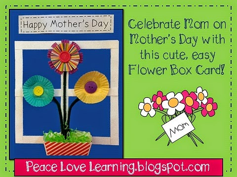 Adorable Mother's Day Card from Peace, Love and Learning