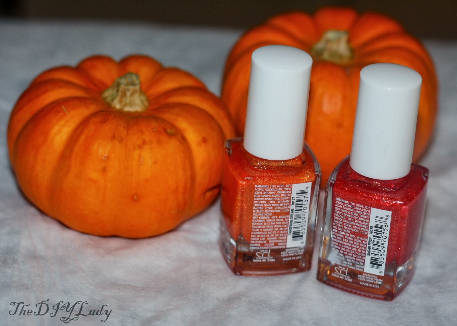 The Do It Yourself Lady: Orange Nail Polish Ideas for Halloween...