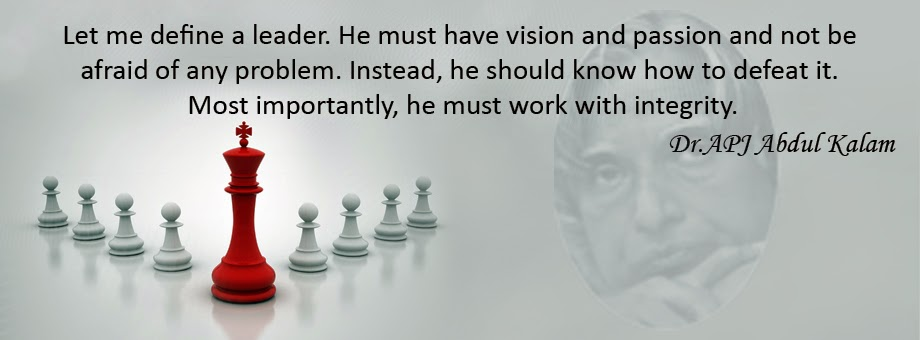 Leadership Quotes by Dr. APJ Abdul Kalam