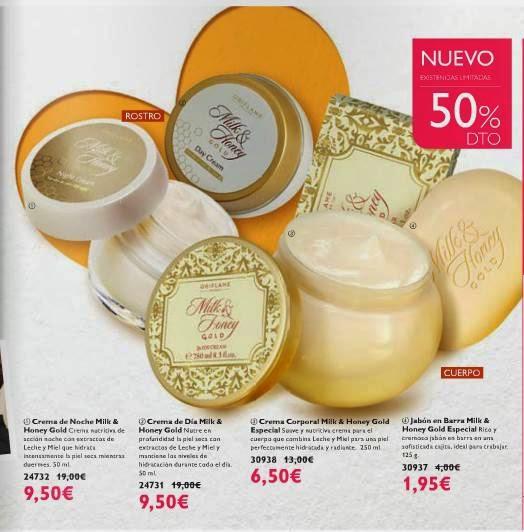 Cremas de Oriflame con el 50% C-2 2015