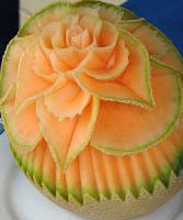 musk melon salad