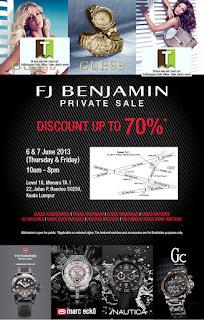 FJ Benjamin Private Sale 2013
