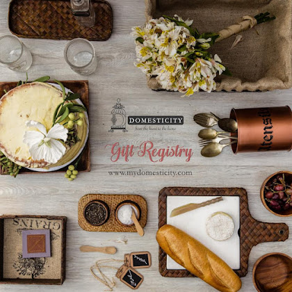 DOMESTICITY | ONLINE GIFT REGISTRY