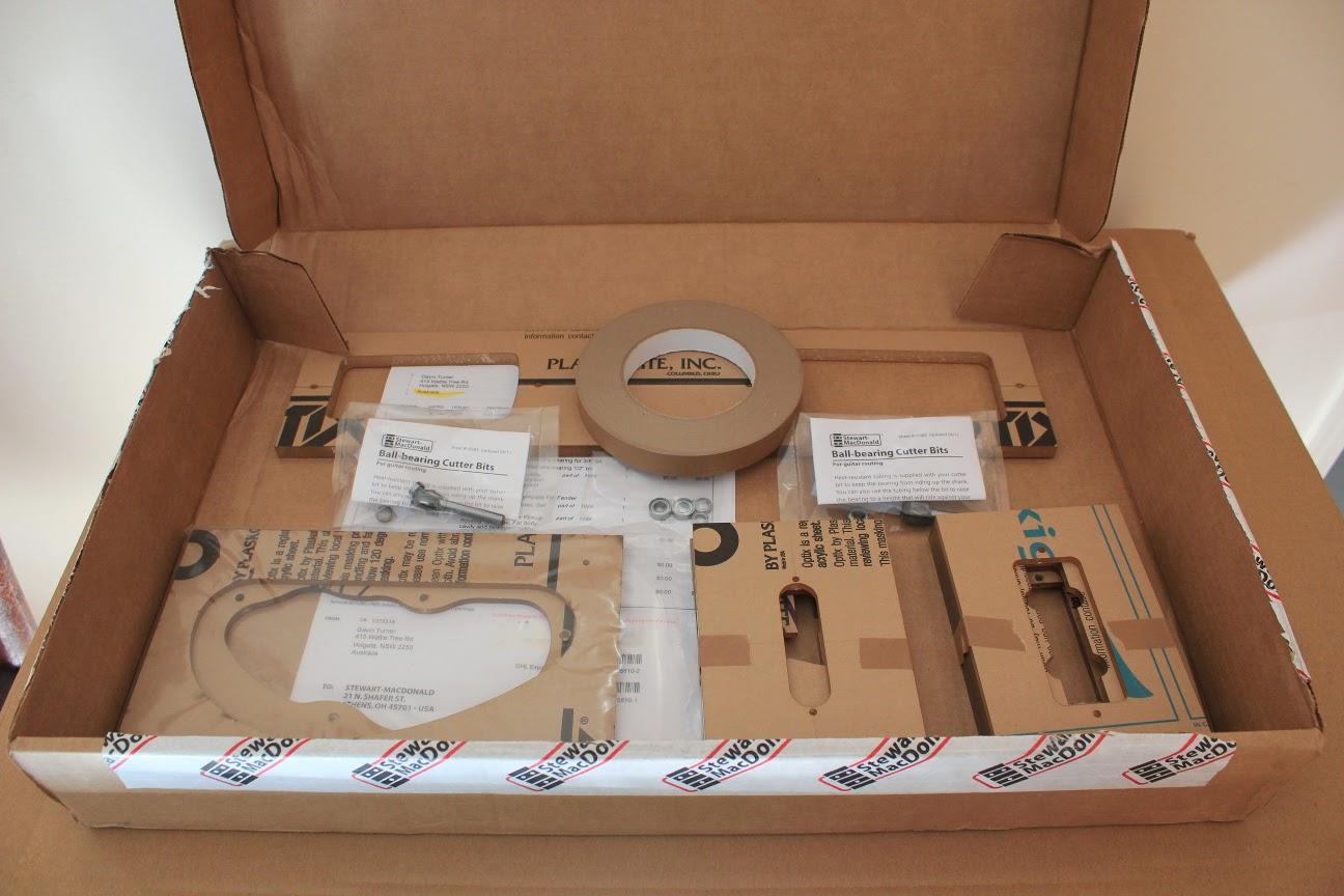 Guitar Kit Builder: Scratch Pine Toronado: Routing the Neck Pocket