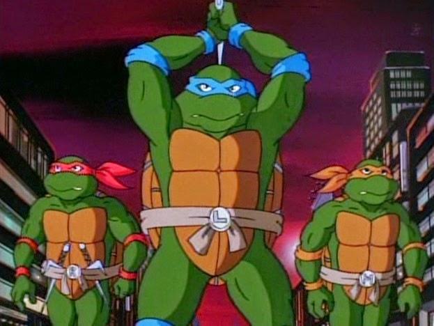 Il mondo di supergoku tartarughe ninja alla riscossa stagione