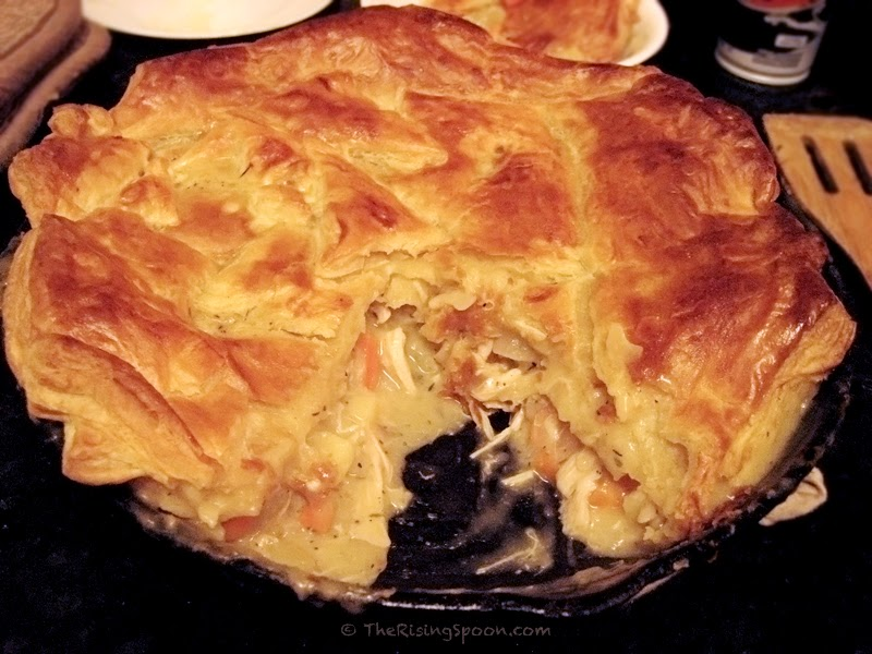 My boyfriend raved about this chicken pot pie (he's a picky eater ...