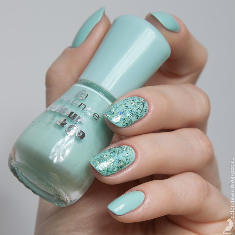 Essence #166 That's What I Mint! + Catrice C01 Feathery Fact