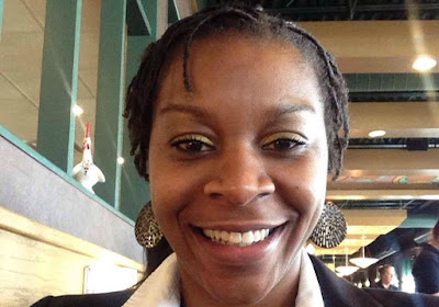 Sandra Bland, in picture she posted to LinkedIn.