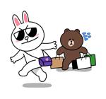 emoticones de enamorados de compras