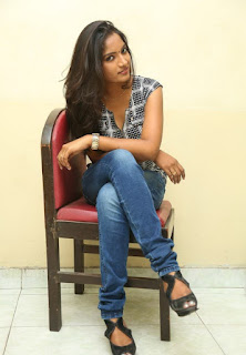 Actress Keerthi  Pictures in Jeans at TLLILKBL Press Meet  14