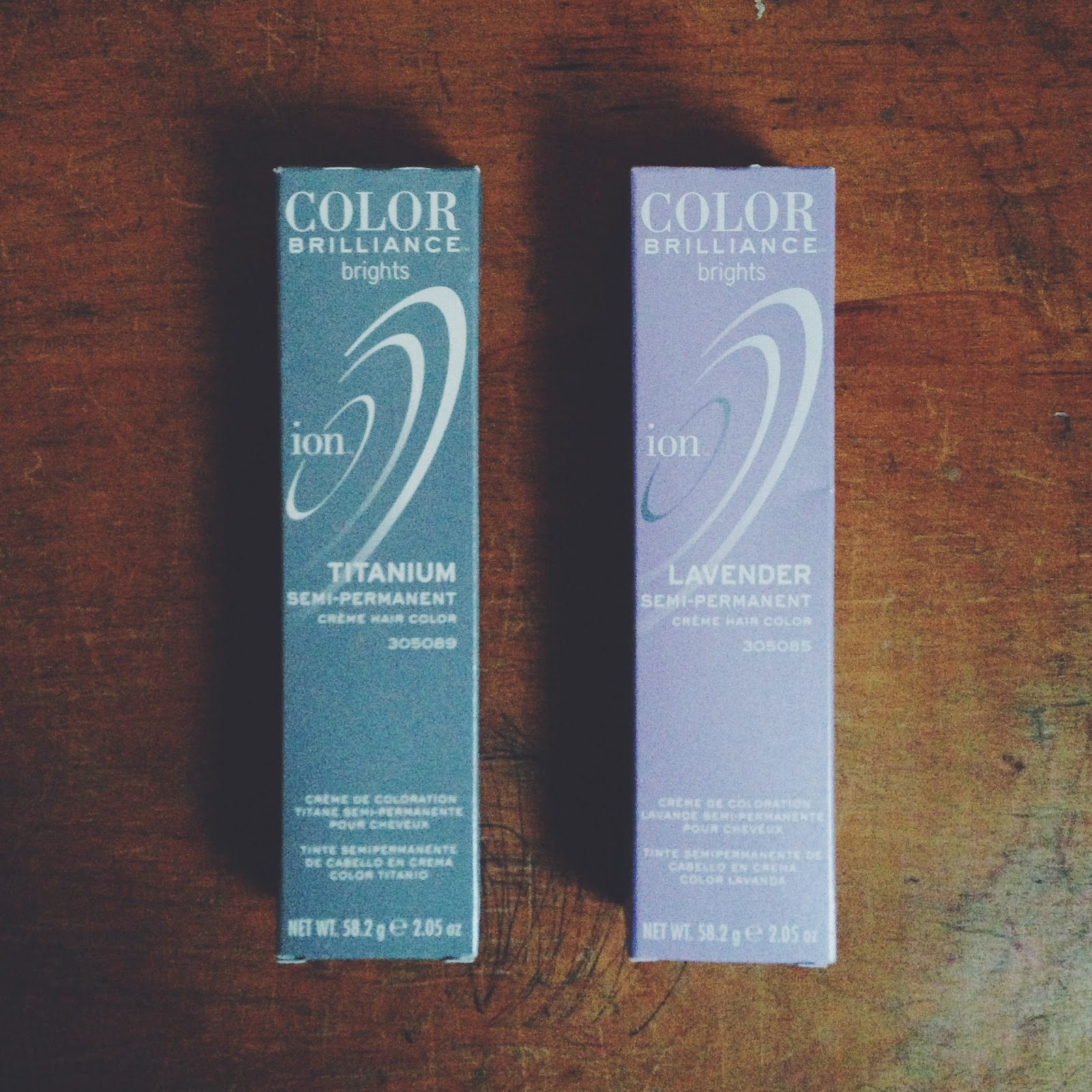 Mini Penny Review Ion Color Brilliance Brights Hair Color
