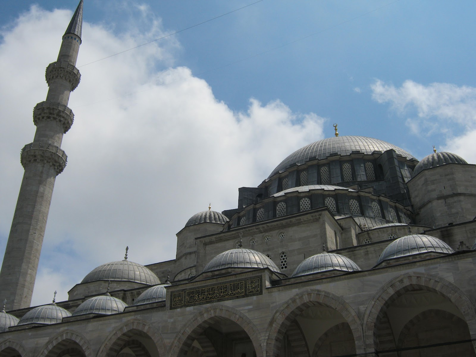 Blogging from Turkey: The renovated Suleymaniye mosque ...