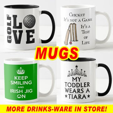 STAND UP AND CHEER MUGS