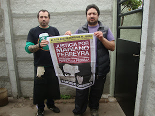 MACHI VILLANUEVA Y L. LEZCANO, DEL RESTAURANTE EL ANDÉN, TAMBIÉN QUIEREN JUSTICIA POR MARIANO