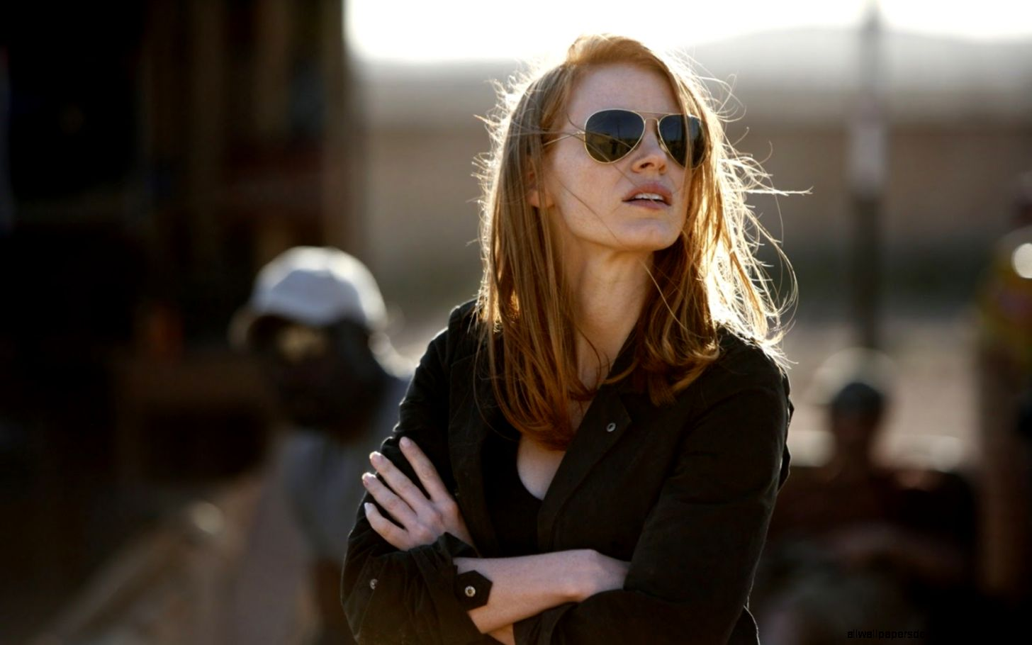 Jessica Chastain Hollywood Actress HD Wallpaper  HD Wallpapers