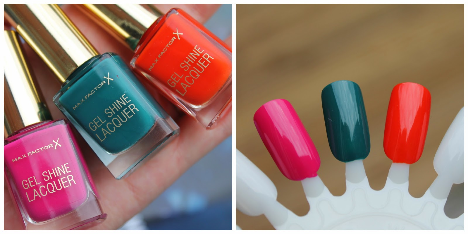 Max Factor Gel Shine Lacquers
