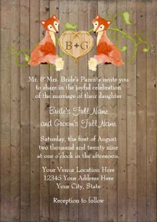 http://www.zazzle.com/woodland_animal_creatures_fox_n_vines_weddings_invitation-161036737362689027?rf=238845468403532898