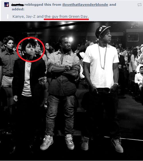 Kanye, Jay-Z And Lady Gaga As Man - VMA 2011