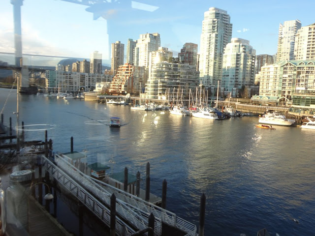 view from patio on The Sandbar in Vancouver