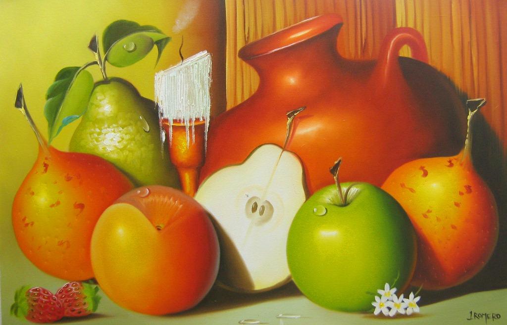 Cuadros de frutas faciles imagui - Pinturas bodegones modernos ...