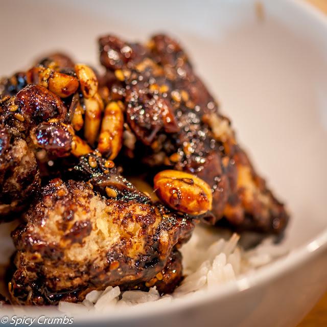 Křupavé korejské kuřecí kousky