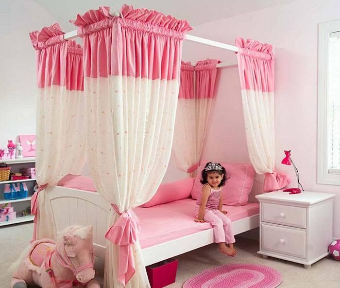 Decoraci n de interiores cuartos para ni as for Decoracion de dormitorios de ninas