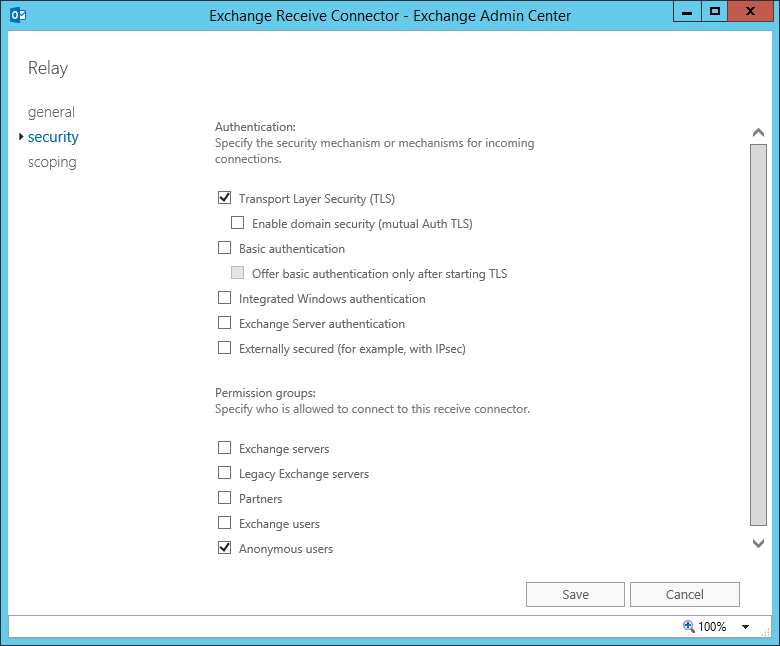 Turn Exchange Anonymous Relay On or Off with Toggle