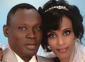 Meriam Ibrahim with husband Daniel Wani