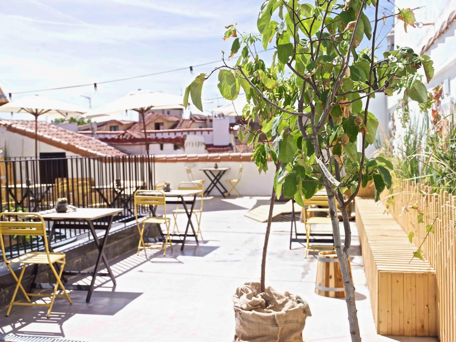 Azoteas y terrazas de hotel con vistas maravillosas de madrid for Terrazas madrid
