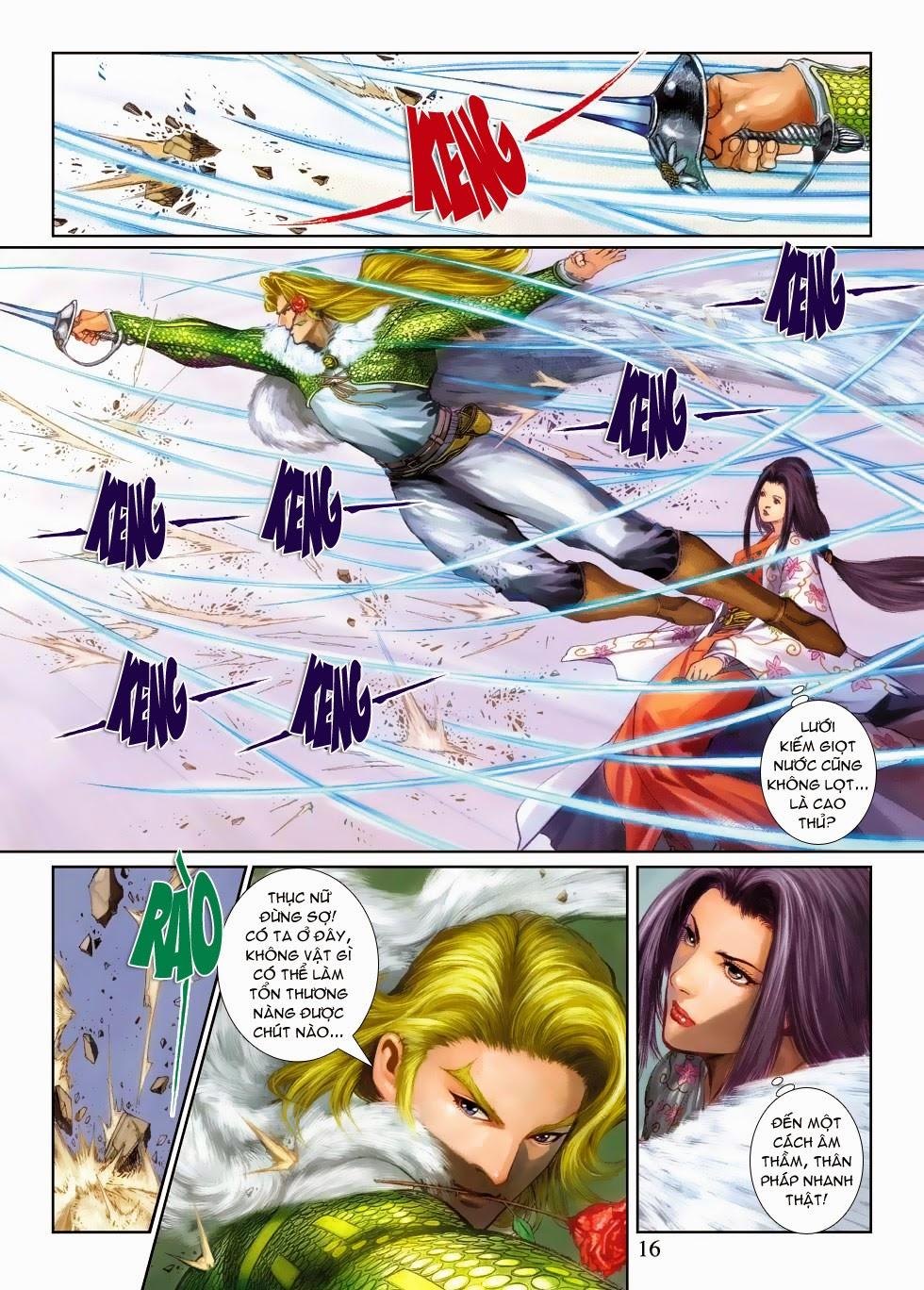 Thần Binh Tiền Truyện 4 - Huyền Thiên Tà Đế chap 3 - Trang 16