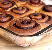Molasses Cinnamon Rolls
