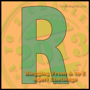 A to Z Challenge: R