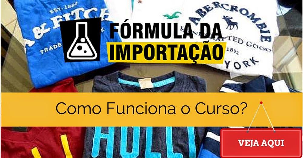 Fórmula da Importação - Como funciona o curso?