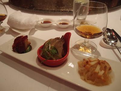 黑豚叉烧、老檀鸭片、海蜇