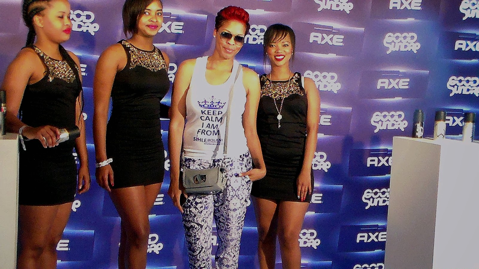 d92d7bbe6f Sihle Bolani and Axe babes.